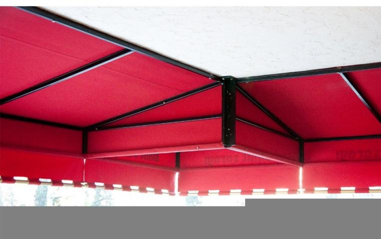 özel mimari sabit tente modelleri