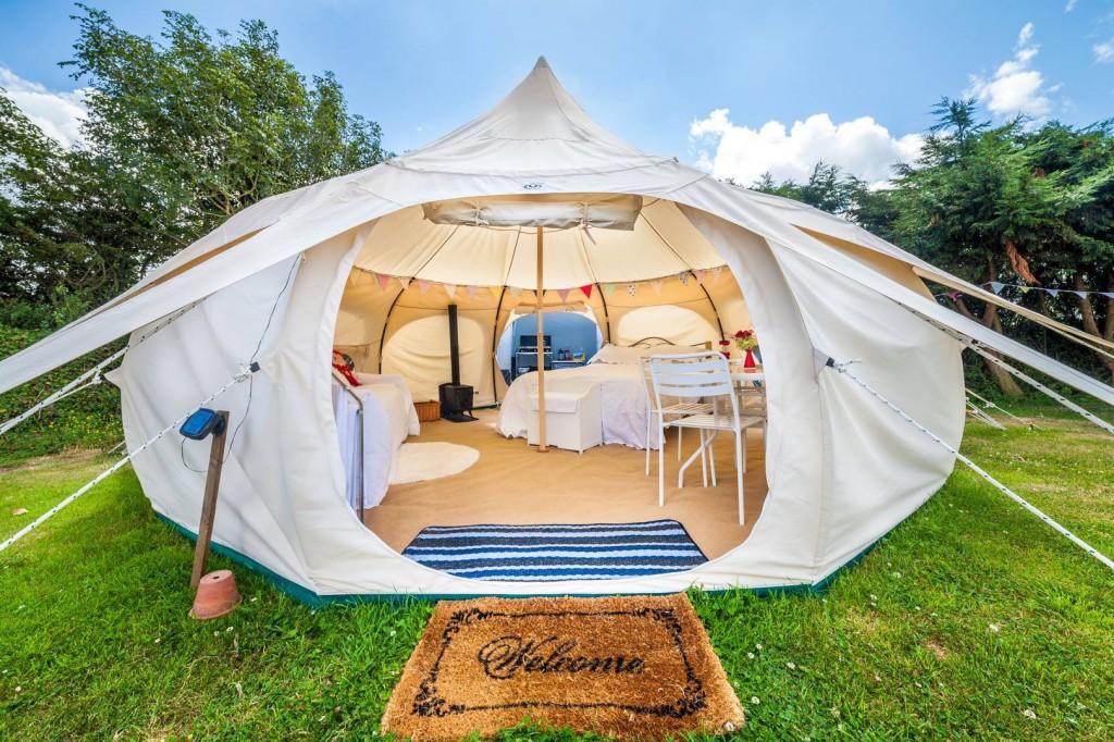 özel mimari çadır