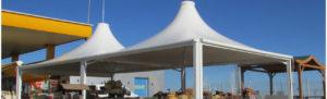 kubbeli tente branda çadır