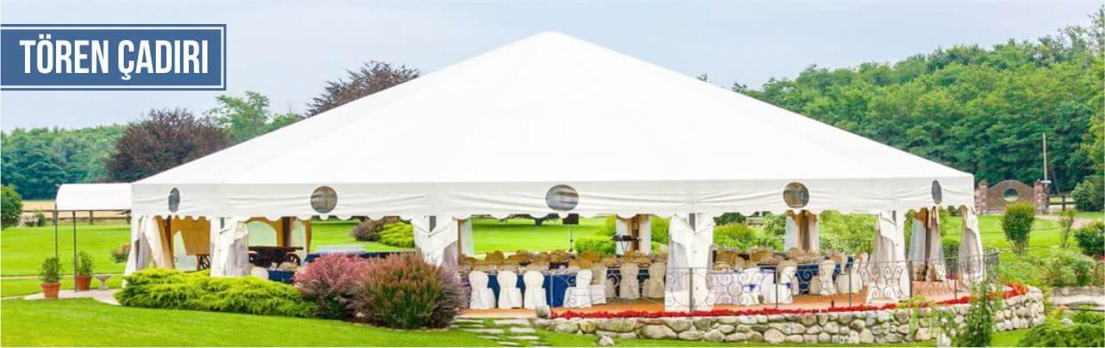 Protokol tören çadırı